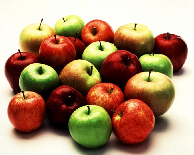 14. A maçã