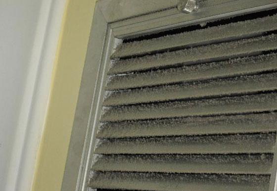 23. Limpar o duto respiradouro do ar acondicionado