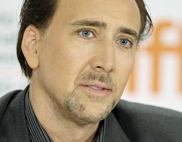 O ator Nicolas Cage