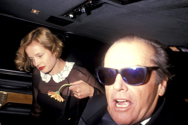 Jack Nicholson e Rebeca Broussard