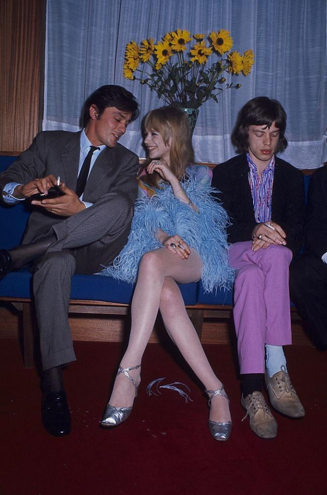 Allan Delon e Mick Jagger