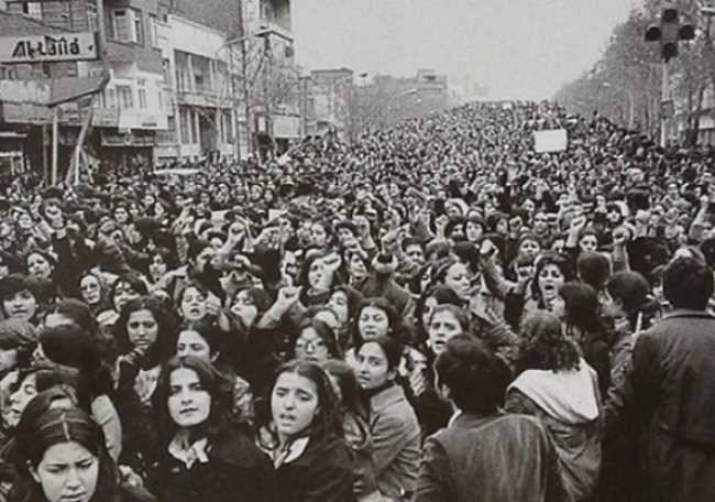 Mulheres no protesto