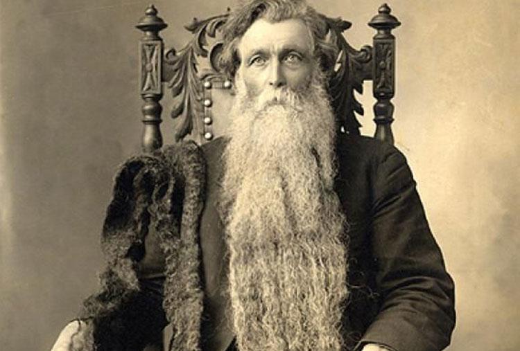 Morreu por culpa da sua barba