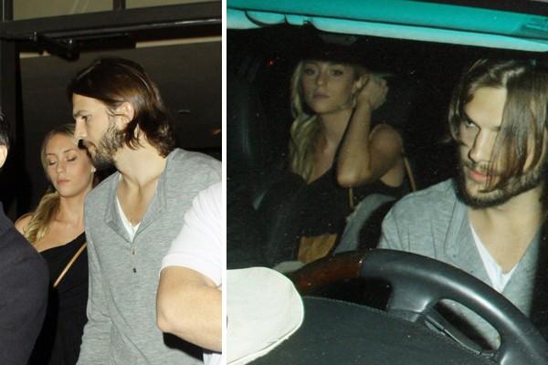 Ashton Kutcher e Sara Leal