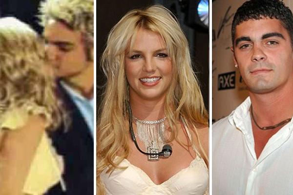 Britney Spears, Jason Alexander e Wade Robson