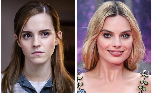 Emma Watson e Margot Robbie - 26 anos