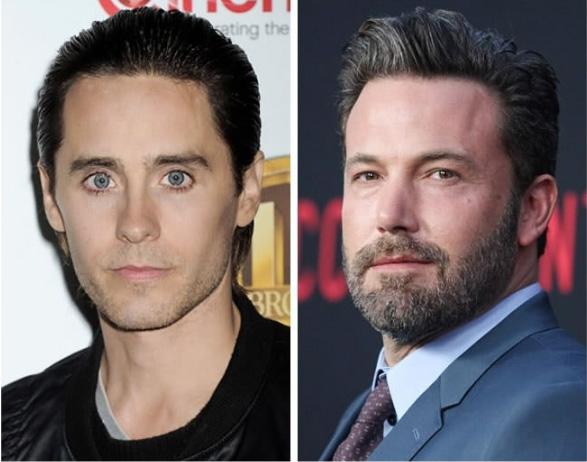 Jared Leto e Ben Affleck - 44 anos