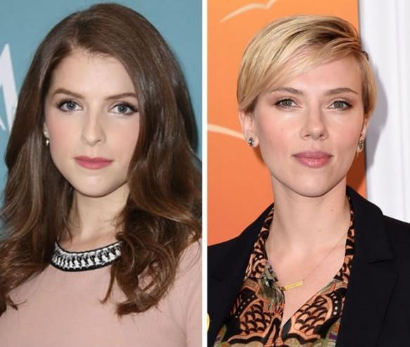 Anna Kendrick e Scarlett Johansson - 31 anos
