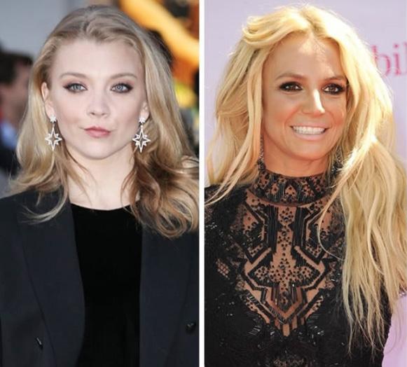 Natalie Dormer e Britney Spears - 34 anos