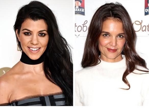 Kourtney Kardashian e Katie Holmes - 37 anos