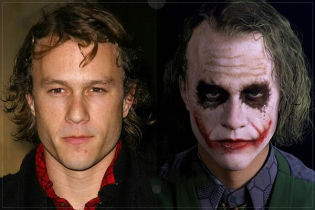 Heath Ledger ( O Coringa)