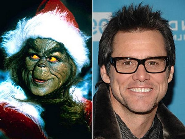 Jim Carrey ( O Grinch)