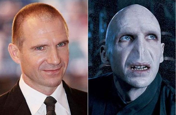 Ralph Fiennes (Vilão Voldemort)