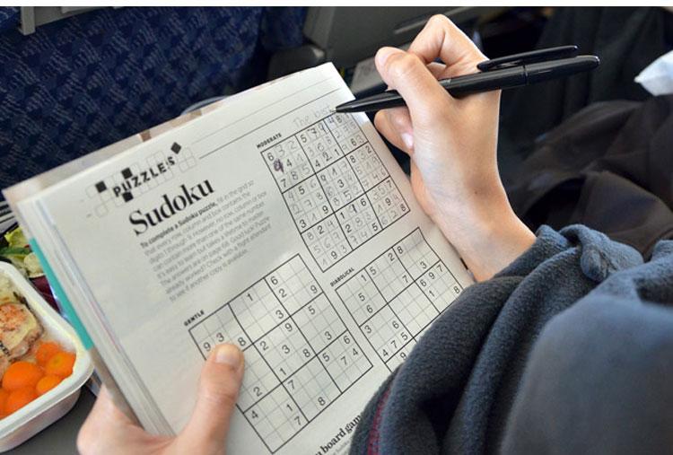 Jogar sudoku, é divertido!