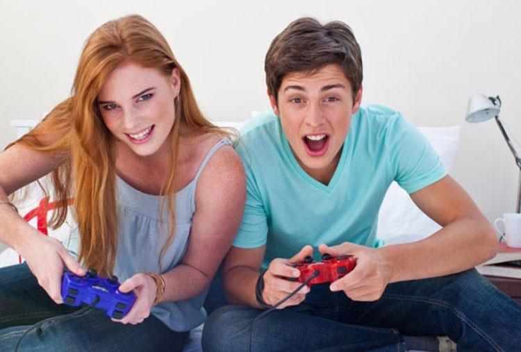 Divirta-se com jogos de vídeo