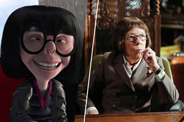 Edna - Linda Hunt