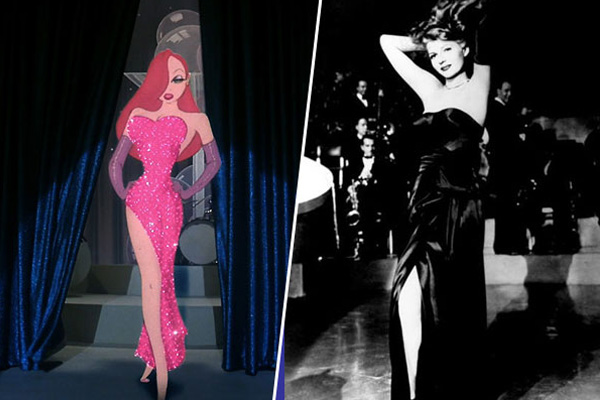 Jessica Rabbit - Rita Hayworth