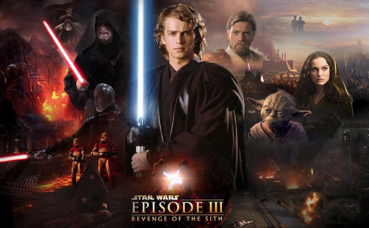 2005: Star Wars - A vingança dos Sith