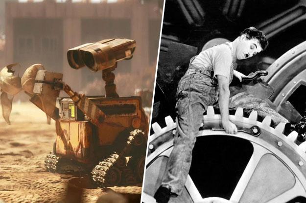 WALL-E - Charlie Chaplin