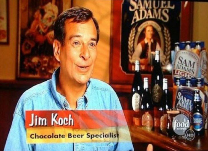 Especialista em cerveja de chocolate