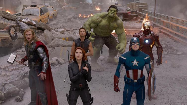 2012: Os Vingadores