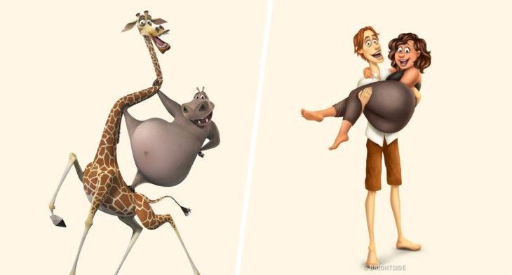 Melman e Gloria – Madagascar