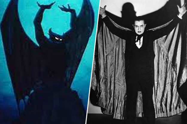 O demônio Chernabog - Bela Lugosi