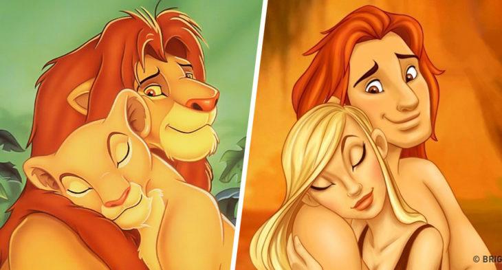 Simba e Nala – O Rei Leão