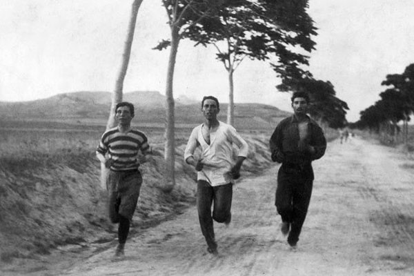 Maratona nos primeiros Jogos Olímpicos