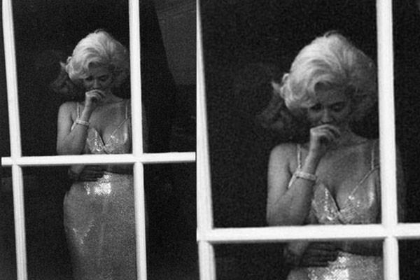 Marilyn Monroe e JFK, em um suposto romance