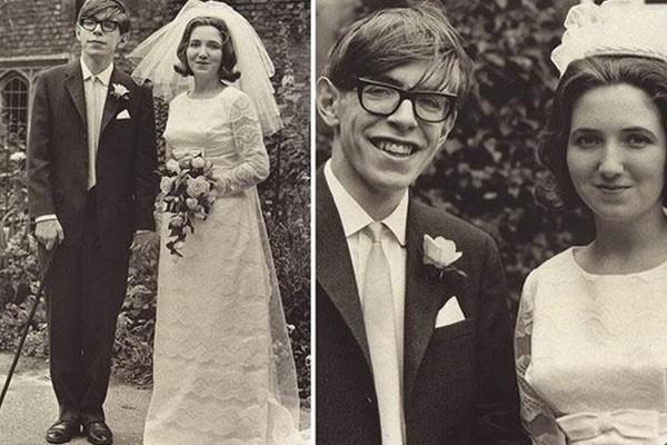 Stephen Hawking com Jane Wilde