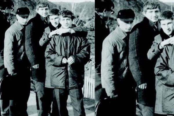 Vladimir Putin quando era adolescente