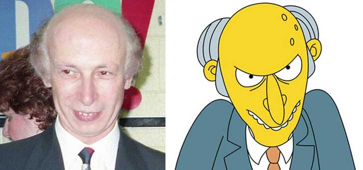 O senhor Burns - Os Simpson