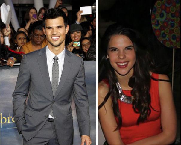 Taylor Lautner e sua irmã perdida ...