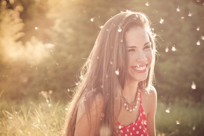 Que bonito sorriso
