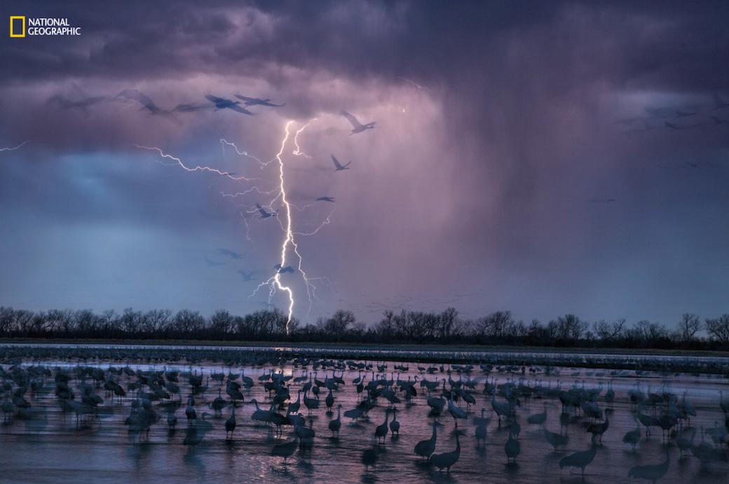 A tempestade sobre o rio