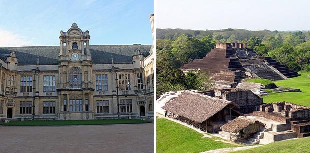 A Universidade de Oxford é mais antiga que a civilização asteca