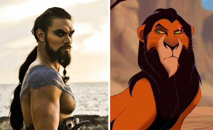 Khal Drogo – Scar
