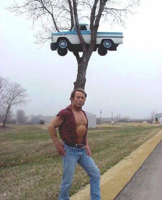 Eu acho que você não pode estacionar o carro ali