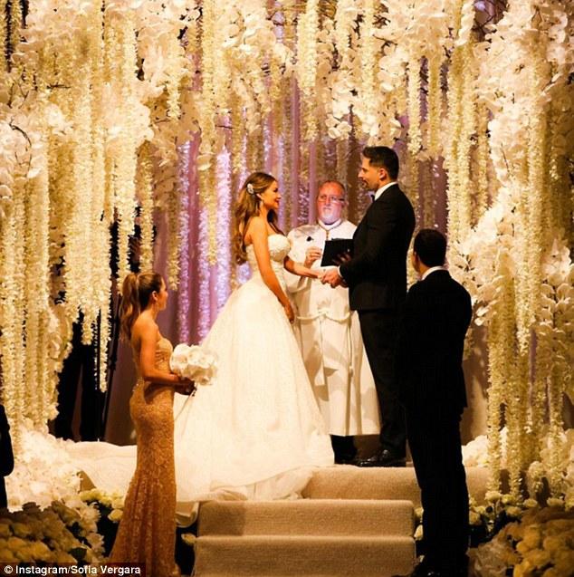 O casamento de Sofia e Joe foi impressionante