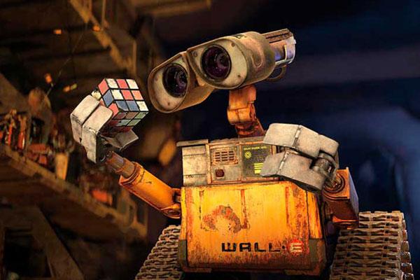 Wall-e é o apelido que deram a Walt Disney