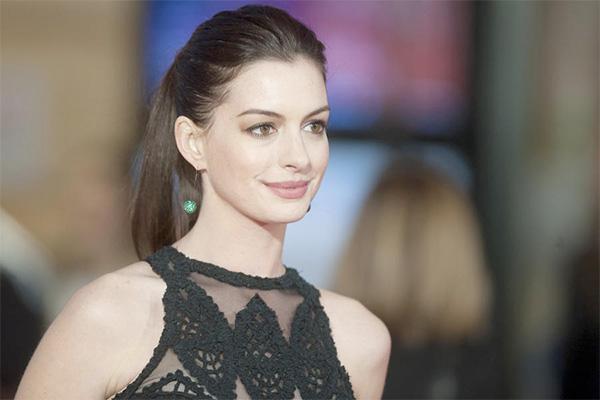 Anne Hathaway é perfeita!
