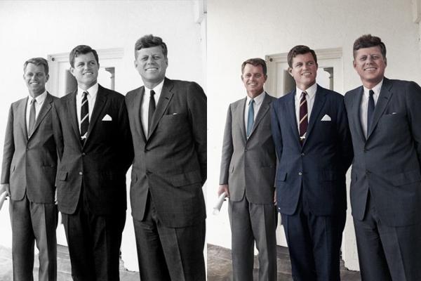 Os irmãos Kennedy