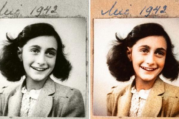 Esta garota não precisa de apresentação, Anna Frank