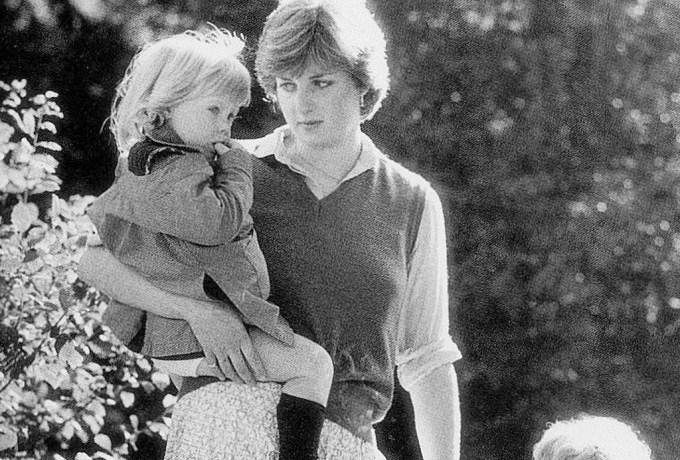 Princesa Diana foi professora e babá