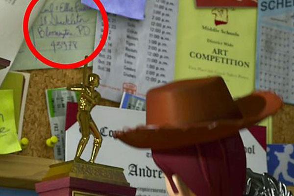 Andy de Toy Story tem um parentesco com UP!