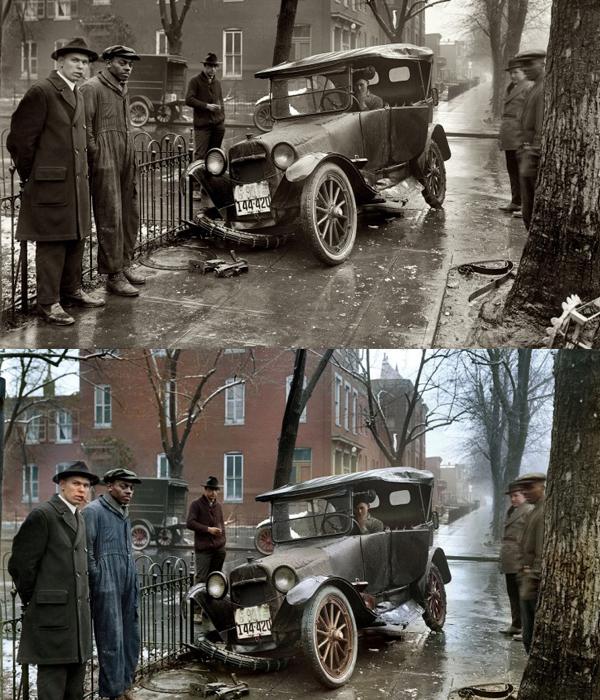 1921: Uma batida em Washington