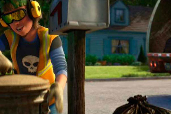 Sid, o garoto do psicopata de Toy Story aparece no Toy Story 3