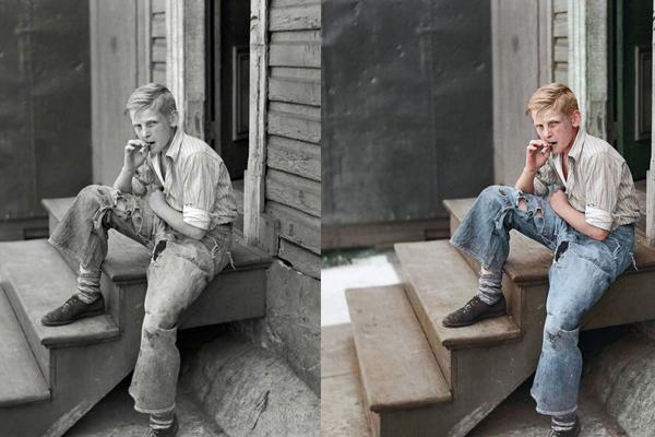 Um garoto rebelde em 1938
