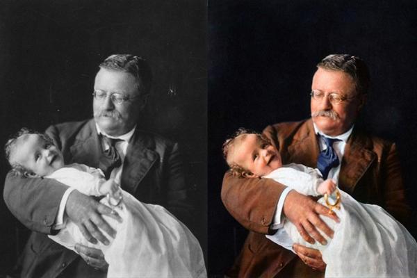 O Presidente Theodore Roosevelt